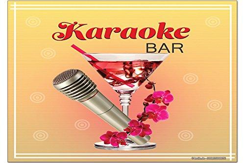 LEotiE SINCE 2004 Fridge Magnet Rétro Karaoke
