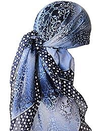 Frauenalltags Weiche Quadratisch Kopftucher, Kopftuch, Quadratischer Schal