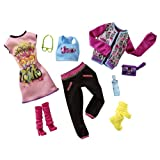 Barbie X2236 - Trend Garderoben Sortiment Discomoden
