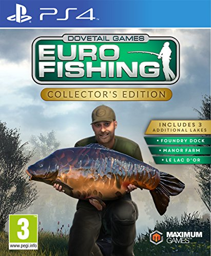 Euro Fishing (Collector's Edition) (PS4) (New)