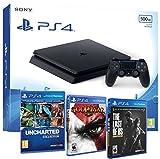 Sony tabz4 Slim 500Gb Slim 500Gb - MEGAPACK 5 Juegos OFERTA - PEGI 16