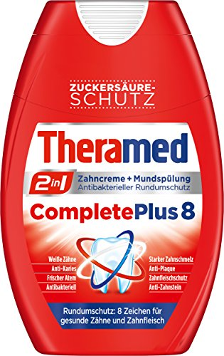 Theramed Zahncreme 2in1 Complete Plus, 4er Pack (4 x 75 ml)