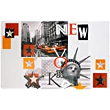 DecorLine Manhattan Set de Table Polypropylène Opaque 44 x 28 cm
