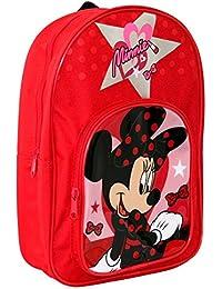 Disney Minnie Mouse - Niñas Mochila - 33 x 23 x 9 cm