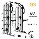 Force USA Monster G3 Smith Machine, Functional Trainer, Power Rack Combo