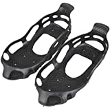 Generic 1 Pair 24 Claws Teeth Crampons Non-slip Shoes Cover-parent