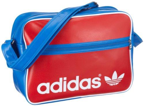 Adidas Tasche, AC Airline Bag, rot/blau -
