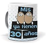 mundohuevo Taza Mis Huevos ya Tienen 30 años versión