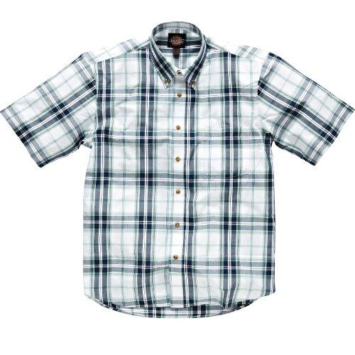 Dickies Harwood Short Sleeve Shirt SH5007 Sizes M - XXL (Large, White)