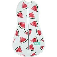 Tulik Baby Swaddle per neonato tuta con cerniera per bambini e neonati (0–3mesi) (Snoozy Watermellon)