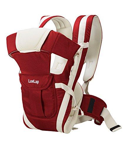 LuvLap Elegant Baby Carrier (Red)