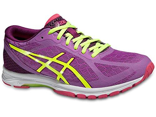 ds racer ASICS GEL-DS RACER 11 Women's Running Shoes (T677N-3507) (Mauve / Flash Yellow / Plum) (UK 3.5 / EU 36 / US 5.5 / CM 22.75)