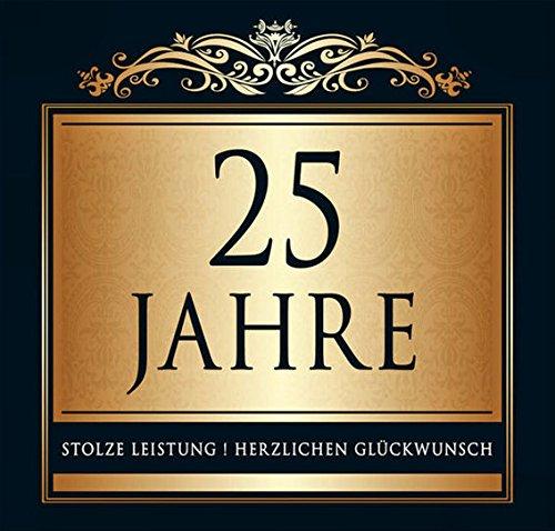 Udo Schmidt Aufkleber Flaschenetikett Etikett 25 Jahre Jubiläum gold elegant - Jahr-etiketten