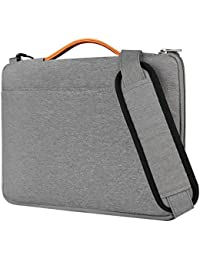 "Inateck 15.6 Inch Laptop Shoulder Bag,  Spill-resistant Laptop Sleeve Case for 15-15.6"" Dell Lenovo HP Chromebook ASUS Acer Toshiba, Gray"