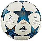 adidas Erwachsene Finale Cardiff Capitano Fußball, White/Mystery Blue S17/Cyan S09, 5