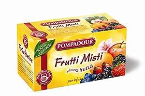 Pampadour - Frutti Misti, per infuso, solo vera frutta, 20 bustine - 60 g