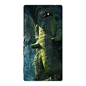 Rock Ganesha Back Case Cover for Sony Xperia M2