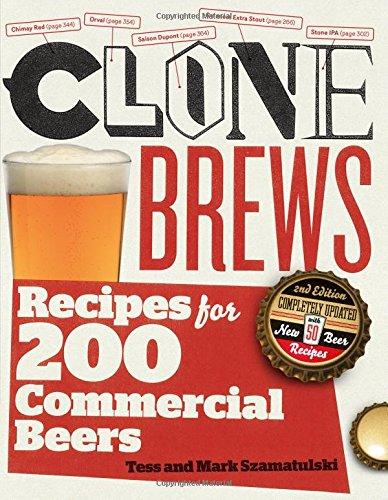 Clone Brews: Recipes for 200 Commercial Beers por Tess Szamatulski