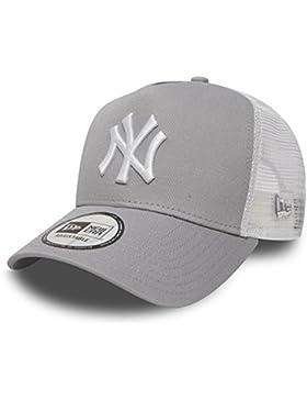 New Era Gorra Béisbol Malla cap en el Bundle con UD PAÑUELO New York Yankees LOS ANGELES DODGERS - NY gris / BLACK...