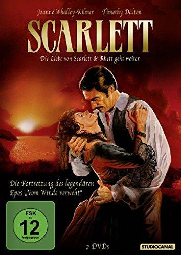Scarlett - Die Liebe von Scarlett & Rhett geht weiter [2 DVDs] (Scarlet Ohara Kostüm)