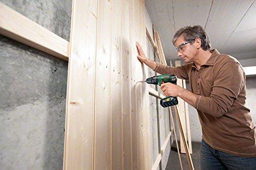 Bosch DIY Akku-Schlagbohrschrauber PSB 18 LI-2, Ladegerät, 2 Akku, Doppelschrauberbit, Koffer (18V, 2,5 Ah, Schrauben-Ø bis 10 mm, BohrØ 35 mm in Holz, 13 mm in Stahl, 15 mm in Mauerwerk) - 4