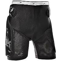 Black Crevice Crevice, Pantaloncini Protettivi Unisex – Adulto, Nero, S