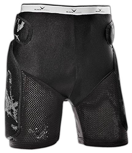 Black Crevice Crevice, Pantaloncini Protettivi Unisex - Adulto, Nero, M