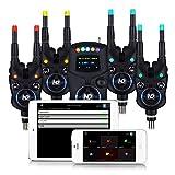New Direction Tackle K9 4+1 Funkbissanzeiger Set - 6