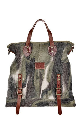 Wewod Borsa Messenger Groovy Green 1141(Length)*5.91(Width)*15.75(Height) inches Groovy Green