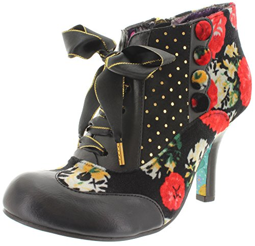 Irregular choice bLAIR eLFGLOW 4262-3 ankle boots Noir - Red/Black