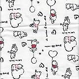 Jersey Kinderstoff Winnie Pooh Oeko-Tex®, Meterware ab