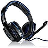 CSL - 7.1 USB Gaming Headset inkl. externer Soundkarte - Virtual 7.1 Surround Sound - PC...