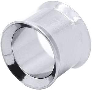 tumundo Tunnel Set o 1 Pezzo Dilatatore Orecchio Acciaio Inossidabile Piercing Stretcher Ø 3-12 mm