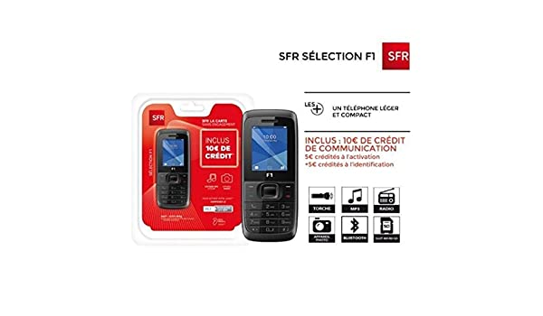 sfr la carte activation SFR La Carte F1 Pre PAYED Ready to Use Pack: Amazon.co.uk: Electronics