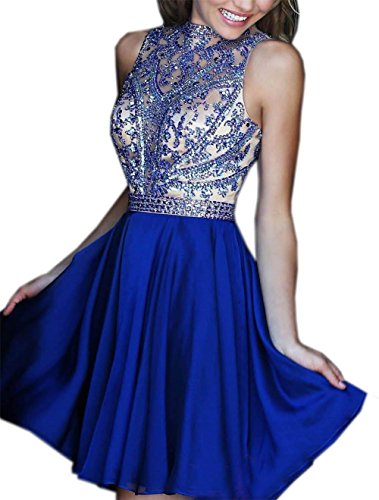 Ikerenwedding - Robe - Taille empire - Femme Bleu Bleu Taille Unique Bleu