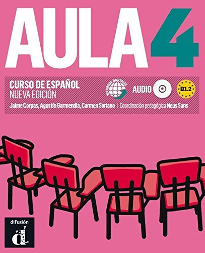 Aula (for the Spanish Market): Libro Del Alumno + CD 4 (B1.2) New Edition by Jaime Corpas (2014-04-23)