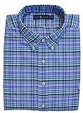 Ralph Lauren Big & Tall Hemd Sport Shirt Button Down Blau Weiß Grün Lila Schwarz kariert (3XB)