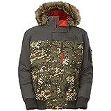 The North Face chaqueta gótica de los hombres (Ejército verde camuflaje impresión, a8q4 - q5l)