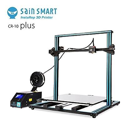 """SainSmart x Creality 3D-Drucker """"CR-10 Plus"""" vormontiert, hohe Präzision mit beheiztem Druckbett, große Druckgröße 500x500x500mm - Druckqualität für diese Größe und bei diesem Preis hervorragend."""