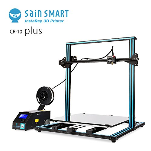 """SainSmart x Creality 3D-Drucker """"CR-10 Plus"""" vormontiert, hohe Präzision mit beheiztem Druckbett, große Druckgröße 500x500x500mm"""
