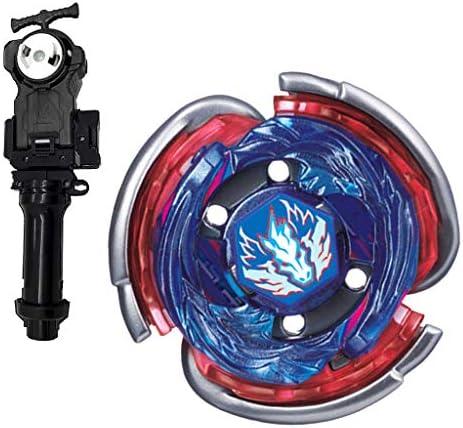 Homyl Toupie Rapidité Gyro de Combat Top Metal Fusion 4D Gyroscope Poignée Lanceur Jouet   BB80 | Réputation D'abord