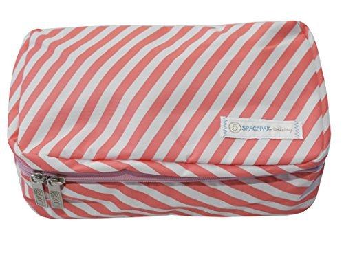 flight-001-unisex-erwachsene-kofferorganizer-stripe-coral-einheitsgrosse