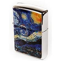 Incrustaciones Con Madre de Perla Hecha A Mano De Van Gogh la noche estrellada diseño de