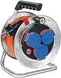 Brennenstuhl Garant S Kompakt IP44 Kabeltrommel  silber