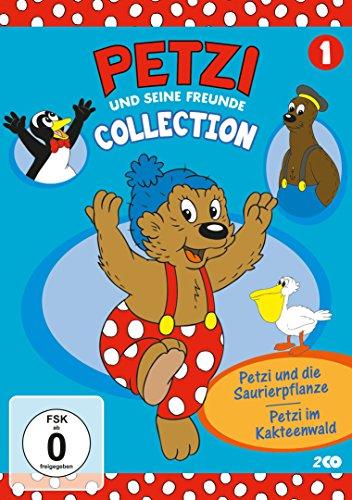 Collection 1: Petzi und die Saurierpflanze/Petzi im Kakteenwald (2 DVDs)