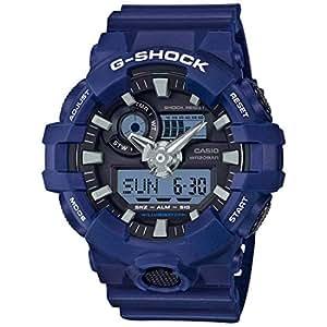Casio G-Shock Analog-Digital Black Dial Men's Watch - GA-700-2ADR (G741)