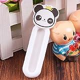 PANGUN 4Pcs Fenster Türgriff Selbstklebende Verschiebbaren Kleiderschrank Schublade Schrank Balkon Hilfs Griffe-Panda
