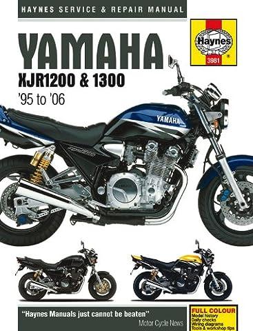 Yamaha XJR 1200 1300 Repair Manual Haynes Service Manual Workshop