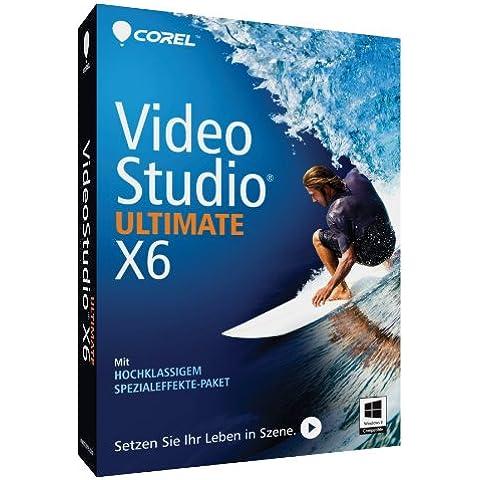 Corel VideoStudio Ultimate X6 - Software de video (Full, 1 usuario(s), 2048 MB, Intel Core Duo 1.83GHz, AMD Dual Core 2.0GHz, Win,