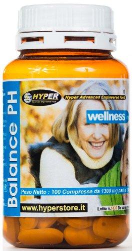 Alkalinizing Balance PH Integrator | 100 Tabletten | Alkalische Zubereitung zur Regulierung von Säuren im Körper Stoffwechsel Knochen | Magnesium Kalzium alkalische Diät | Energie Vitalität | Alkalisierende und reinigende Ergänzung für den basischen Säure-Haushalt